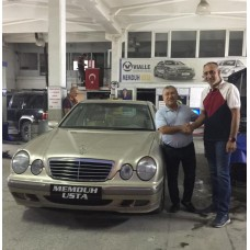 MERCEDES E 200 PRİNS SİLVERLİNE LPG KİT MONTAJI