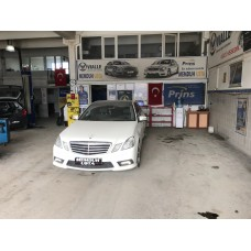 MERCEDES E 250 1.8 CGİ PİRNS LPG KİT MONTAJI